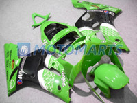 a910 - Injection for Kawasaki Ninja ZX R ZX R ZX R ZX6R Green fairing kit A910