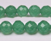 Wholesale 6mm mm mm Natural Emerald Faceted Loose Beads Gemstone piece one string inches