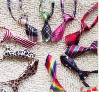 Wholesale dog tie pet ties sequin dog Bows bow tie dog tie pet bow tie pet products pet tie dogs t