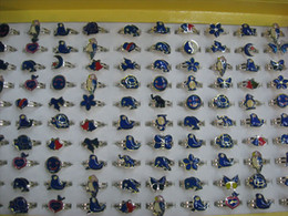 wholesale 500pcs mood rings mixed animals butterfly,smile,heart,peace dove fashion rings jewelry Fr