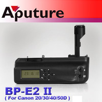 Wholesale Aputure Battery grip with LCD screen for Canon EOS D D D D BP E2 II Camera