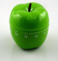 apple kitchen timer - High Quality minutes kitchen timer Green apple twist kitchen timer
