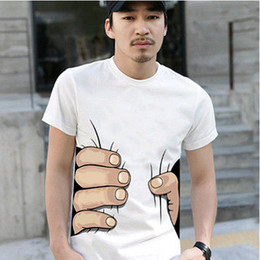Wholesale 4 Colors men s white shirt men fist patterned short sleeve shirt quality gurantee top
