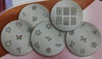 Cheap New Arrival Salon Express Nail Stencil Nail Art Stamping Kit 50pcs