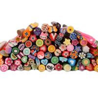 FIMO fimo canes - 100pcs Cute D Nail Art FIMO Canes Rods Decoration set
