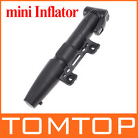 Wholesale Mini Portable Bicycle Bike Air Pump Inflator for Tyre Tire Ball H8201