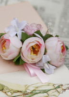 Wedding Bouquet Wrist flower size 8. 5cm*4cm 4colors availabl...