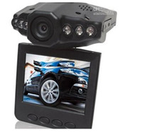Wholesale HD car DVR wide angle degree rotation for car LCD IR night vision car black car dvr