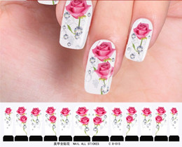 Wholesale Free Shopping Hot Sale Nail Art Sticker random models Nail watermark stickers C8 Series
