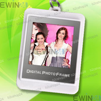 Wholesale white inch LCD MB Digital Photo Frame Album Picture Viewer Keychain