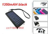 Wholesale Solar Battery mAh Solar Chargers Panel USB Charger Phone pda mp3 mp4 digita camera