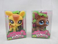 big box shopping - New Pet Shop Dolls baby doll Littlest Pet Shop Toys come with pvc box children kid gift toy mix order