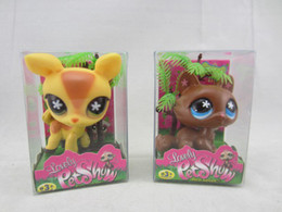 Wholesale New Pet Shop Dolls baby doll Littlest Pet Shop Toys come with pvc box children kid gift toy mix order
