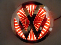 Wholesale The Car D rear logo led lighting For VW Popular and HOT Car Sticker car badge car Emblems