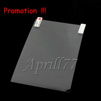 Wholesale Free Ship Clear transparent Screen Protector Film for for inch MID Epad Tablet