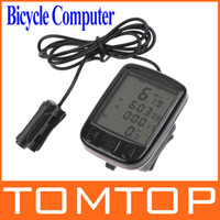 auto computers - 24 Functions Waterproof Cycling Bike Bicycle Computer LCD Odometer Speedometer AUTO ON OFF H8244