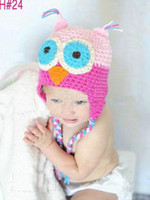 Girl baby hat with ears pattern - Crochet Pattern Baby Hat Handmade Knitted Toddler Owl Hat with Ear Flap Animal Styles Baby Owl Beanie Cap