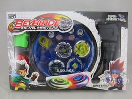 Wholesale Newest Beyblades Metal master super battle super assembly set children kid gift toys
