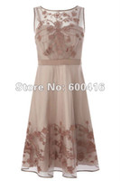 Wholesale Tulle Organza Embroidered Dress Size UK8 CT02