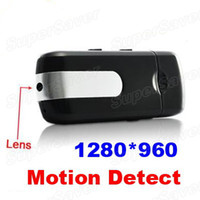 Wholesale Hot Spy USB Flash Disk DVR Digital Camera U10 Camcorder Webcam Card Recorder with Motion Detection