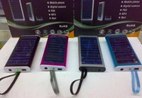 Wholesale USB Solar Battery Panel Charger for Call Phone MP3 MP4 convinent high quality
