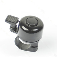 Cheap Free Shipping Metal Ring Handlebar Bell Sound for Bike Bicycle Black