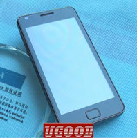 Wholesale White Black In Stock MTK6573 HDC A9100 S2 Android G WCDMA Dual Sim Smart Phone Free IGO GPS Fr