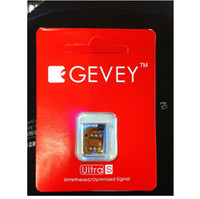 Wholesale GEVEY Untra S Unlocked Sim Card for iPhone S iOS with Retail package