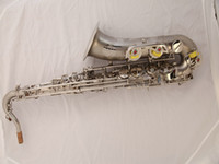 Wholesale New Arrival OEM SAX C melody saxophone with case Matte Nickel Very beautiful Advanced customization