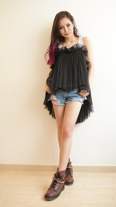 2012 new arrival korean fashion summer dresses for women