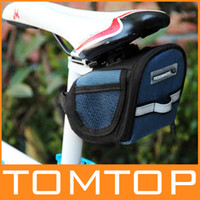 Wholesale Cycling Bicycle Bike Saddle Bag Back Seat Storage Pouch H8284 pc sample