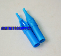 Wholesale 13RT Disposable Plastic Tattoo Tip Bule Colour High Quality For Sale