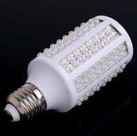Wholesale E27 V W LEDS White LED Light Bulb Corn Lamp LM Degree Lighting Shine level tubes