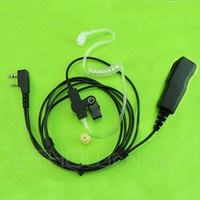 Wholesale Air Acoustic Tube Earpiece For KENWOOD WOUXUN QANSHENG PUXING BF Radio C0105A units