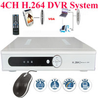 Wholesale NEW CH H Real time Standalone Linux2 Net DVR CCTV Security System With USB amp VGA Port