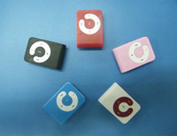 Wholesale NEW MINI Clip MP3 Player Support GB GB Micro TF card