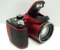 Wholesale Professional SLR digital camera with mp sensor and x optical zoom support to G SD C RED