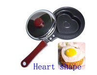 Wholesale Mini Egg Lovely Heart Ect Five Shaped Fry Frying Pan Cook Pan Cover Non stick