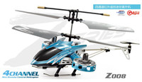 Wholesale Avatar Z008 RTF RC helicopter cm CH Radio toys RC heli D with gyroscope DHL free