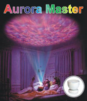 Wholesale New Aurora LED Night Light Projector Ocean Daren Waves Projector Lamp With Speaker
