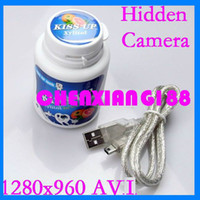 Wholesale Mini Camcorders Motion Detection Camera Chewing Gum Container Hidden Camera