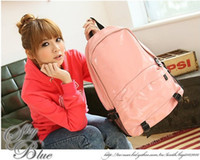Wholesale High school bag coat of paint leisure double shoulder pack female fashion backpack