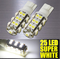 Wholesale NEW T10 SMD SMD car LED WEDGE LIGHT BULBS WHITE warm white w5w DC V