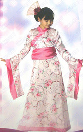 Wholesale 50 Asian Princess Kimono Japanese tm Kids Child Costume Dress for Girls Size T S M L