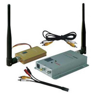 Wholesale 1 G Hz CH Wireless Audio Video CCTV Transmitter Receiver W mW