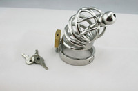 Wholesale Male Stainless Steel Bondage TIGHT IMPALER Chastity Device Gay SM Fetish cb cb6000