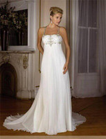 Wholesale New the bride s wedding dress snow spins decals mopping the floor length chapel customized B