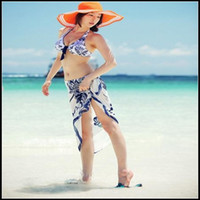Wholesale 2012 Bikini scarf Beach Sarong Swimwear Scarf Shawl Sexy Women Beachwear SJ13