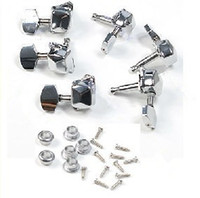 Wholesale New Chrome Semiclosed Guitar String Tuning Pegs Tuners Machine Heads L3R