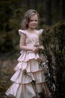 Reference Images Girl Taffeta Pink little girl's dress Custom hot new kids gown designs ball gown for children pageant flower girl dress patterns f186